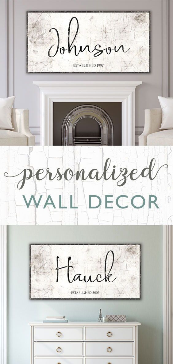 Personalized Wall Art Family Name Sign Personalized Name Etsy Personalized Wall Decor Personalized Wall Art Personalized Wall
