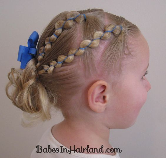 Rubber Band Wraps and Messy Bun
