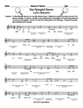 The Star-Spangled Banner I - TeacherVision