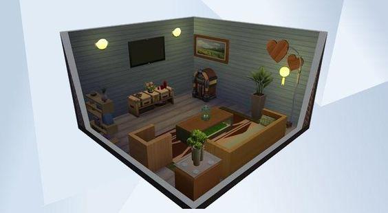 Sieh dir dieses Zimmer in der Die Sims 4-Galerie an! - #old