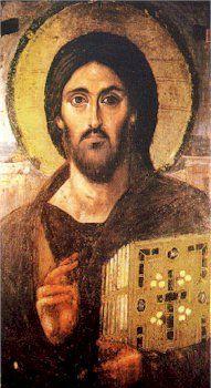 Icône du Christ Bénissant