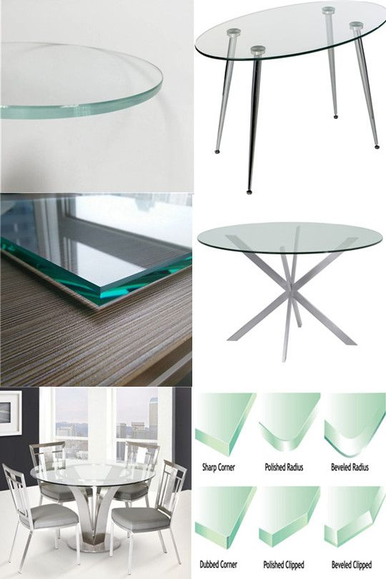 We Produce Good Quality Table Top Glass Glass Type Can Be Clear Tempered Glass Tinted Tempered Glass Silkscr Laminated Glass Glass Top Table Glass Suppliers