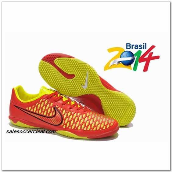 Nike Magista IC Futsal World Cup 2014 2015 Pink Rose $61.00