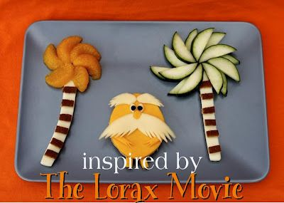 Kids Lunch  The Lorax themed lunch  Fun!