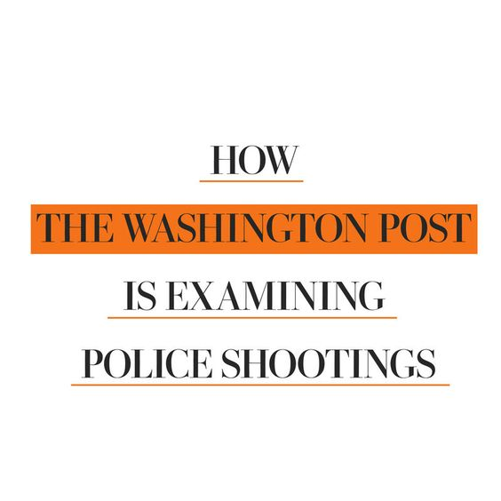 See how The Washington Post is examining police shootings in the U.S. - The Washington Post