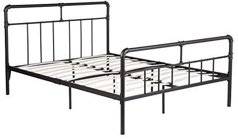 Amazon Com Greenforest Bed Frame Queen Size Metal Platform Bed