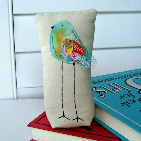 Hey, I found this really awesome Etsy listing at https://www.etsy.com/listing/178215057/bird-sculpture-fabric-bird-long-legged