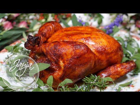 Pollo Adobado Y Relleno Para Los Que No Quieren Pavo Youtube