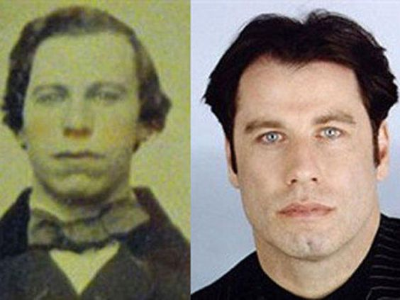 45 People from History Who Look Exactly Like Today's Celebrities: