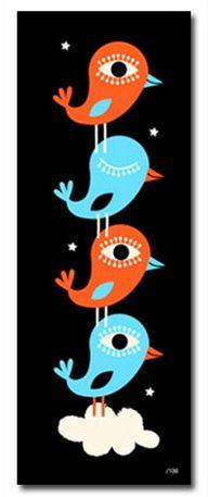 Bird print by Vahalla Studios