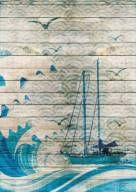 Poster Veleiro em Paraty - Artista Alexandre Moya