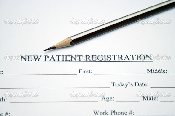 Our colorful new patient forms Products I Love Pinterest - patient registration form