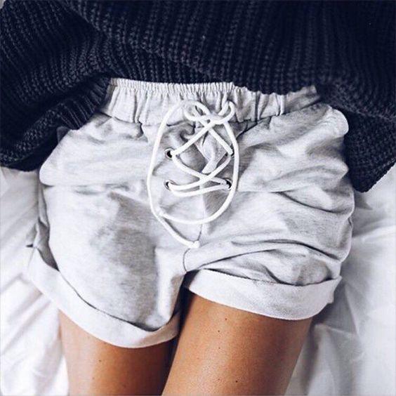 comfy lace-up