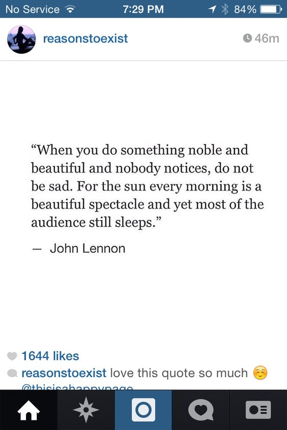 John Lennon quote.
