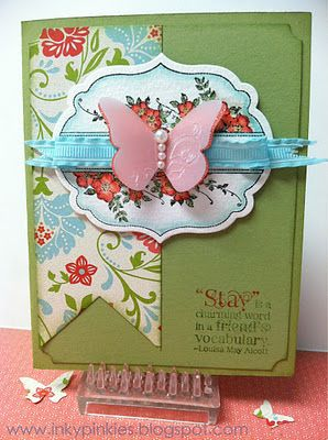 Love the embossed vellum butterfly!