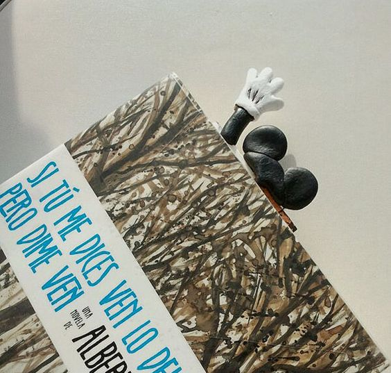 Mickey Mouse book mark