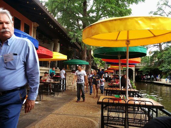 Vibrant San Antonio Riverwalk