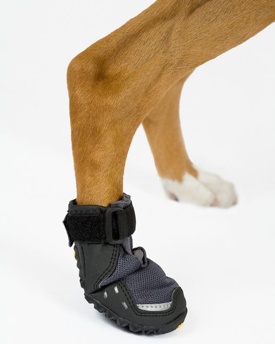 Best dog boots ever, good for hot or cold weather and they don't slip in them. They don't slip off either.: