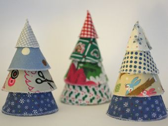 Stacking Christmas cones