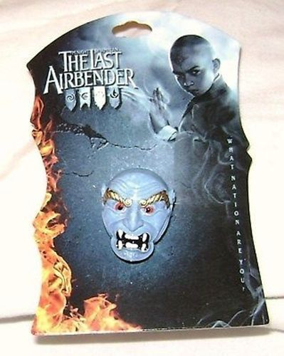 AVATAR LAST AIRBENDER MOVIE BLUE SPIRIT MASK RING NEW