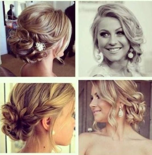 Beautiful Love The Front But Dont Want Mine Up At Back It Draped Over My Shoulder Instead Side Plait In