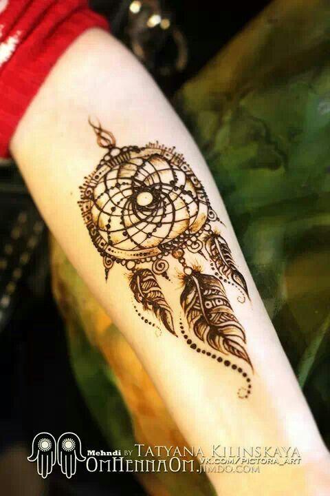Dream Catcher Henna Tattoo Designs: Henna Addict