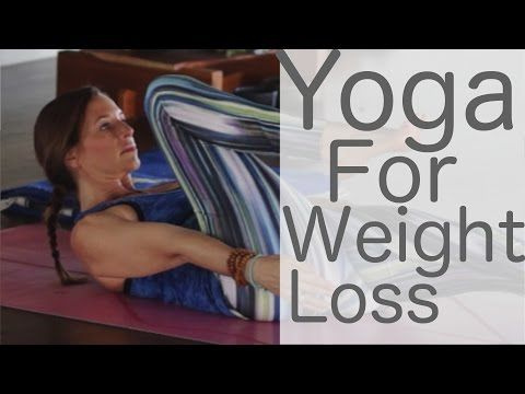 Yoga for Weight Loss and Leg Strength with Lesley Fightmaster and 20% off at Anjali Clothing - YouTube