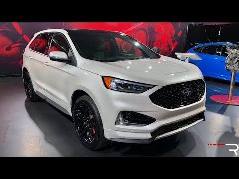 2019 Ford Edge St Redline First Look 2018 Naias Youtube Ford Edge Sport Ford Edge 2019 Ford