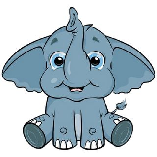 Clip Art Baby Elephant Clip Art cute baby elephant clip art page 3 cartoon art