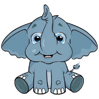 Clip Art Baby Elephant Clip Art cute baby elephant clip art page 3 cartoon art