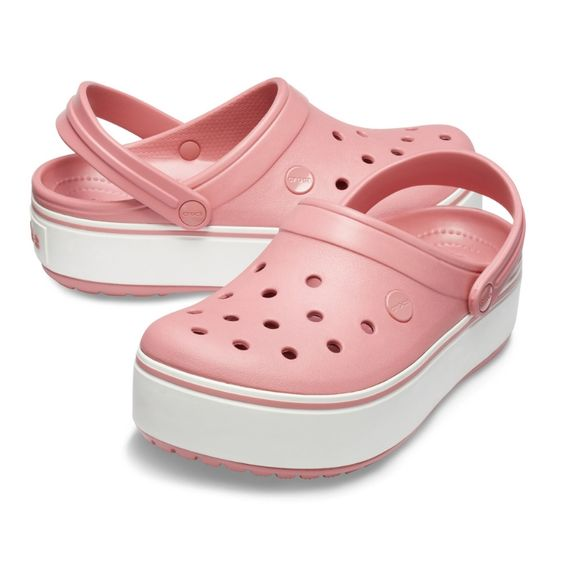 The Crocband™ Platform Collection features a 1.5-inch platform sole across four key colourways, including Black/White, Light Gray/Rose, Black/Black and Blossom/White  #crocs #кроксы #crocskids #zulily #школьнаяформа #jellyshoes #bengaluru #bangalorediaries #bengalurudiaries #karnataka #nammabengaluru #surat #bangalore #india #punjab #rajasthan #maharashtra #shop #sale #shoes #stylish #mumbai #delhi #indian #incredibleindia #indiapictures #_soi #bollywood #storiesofindia #indiaclicks
