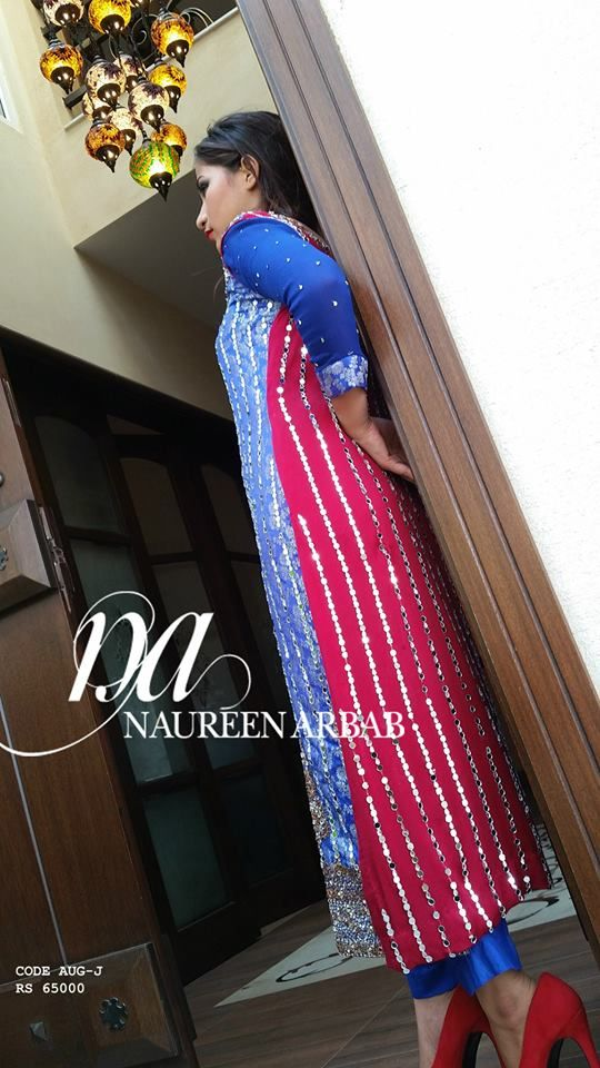 Naureen Arbab Evening Wear & Formal Winter Collection 2015-16