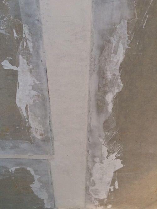 Stahlbetondecke Im Neubau Decke Verputzen Spachteln Und
