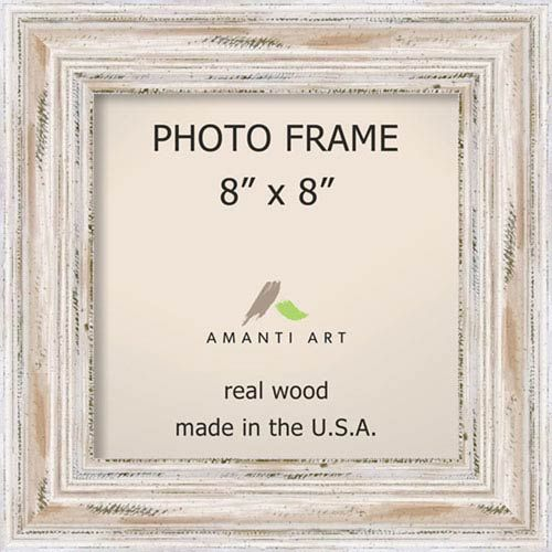 Amanti Art Dsw1385432 Alexandria 12 X 12 In Picture Frame In White Wash Contemporary Modern Bellacor In 2020 With Images Photo Frame Frame Picture Frames