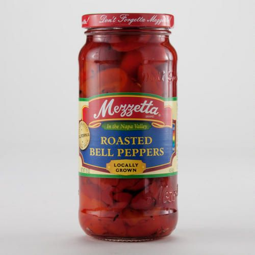 One of my favorite discoveries at WorldMarket.com: Mezzetta Roasted Red Bell Peppers