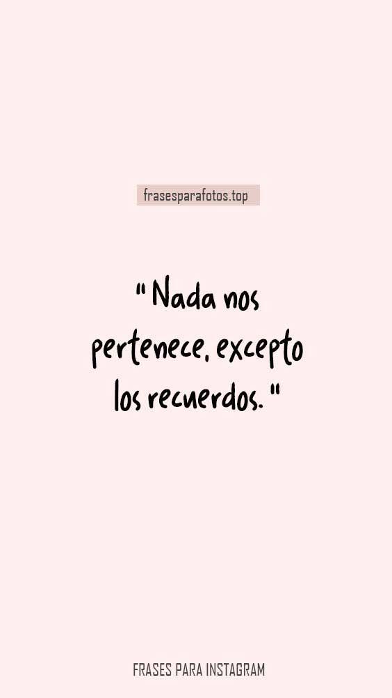 Frases Para Fotos Bonitas Frases De Instagram Facebook Y