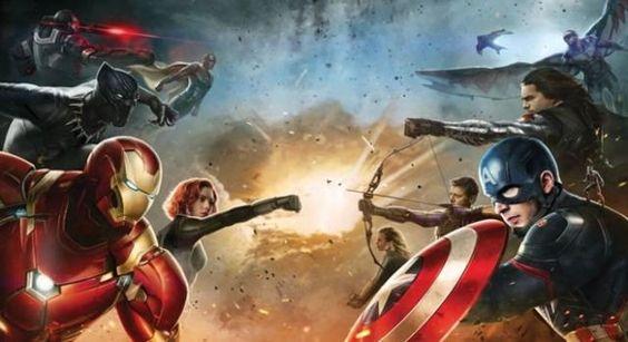 'Capitán América Civil War' Primeras imágenes e informaciones oficiales #CapitanAmerica #civilwar #Marvel