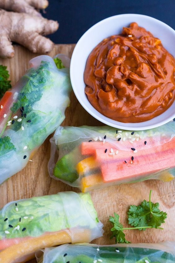 Summer rolls and Summer on Pinterest - schnelle und leichte küche