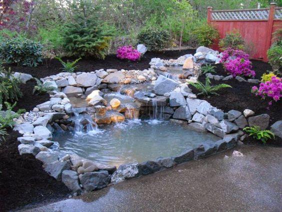 Dekorativen Teich im Garten anlegen u2013 Zurück zur Natur Bewegung - gartenteich bilder beispiele
