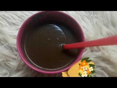 صبغ الشعر والشيب بلون بني الغامق جميل جداا من اول استعمال مجربة وفعالة مليووون صبغة طبيعية تجنن Youtube Chocolate Chocolate Fondue Desserts