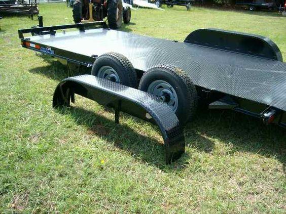 Bobcat Trailer Fenders : Hawke stock photo of carhualer elctric tilt car not