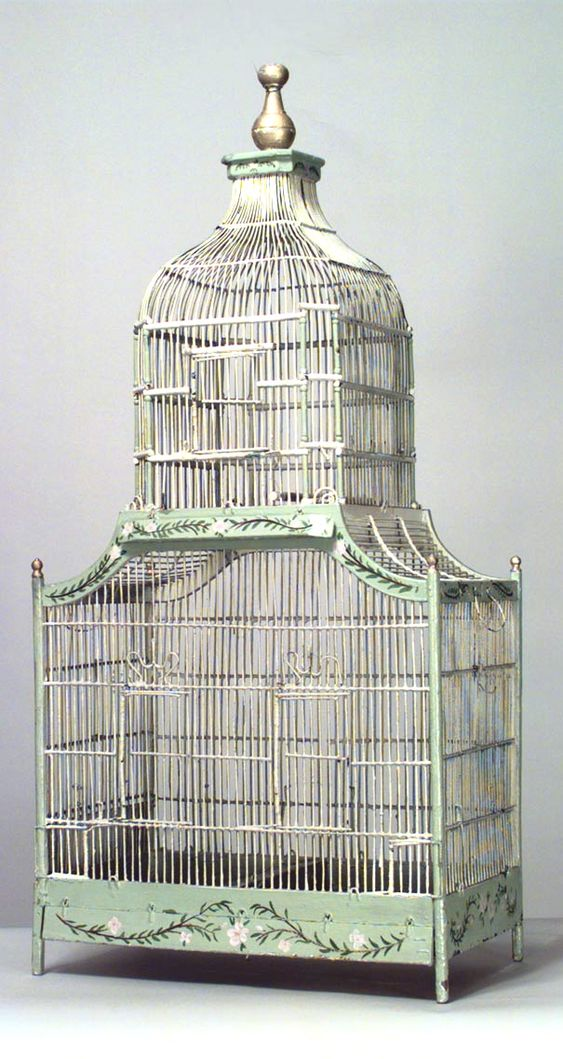 Amazing old French birdcage: