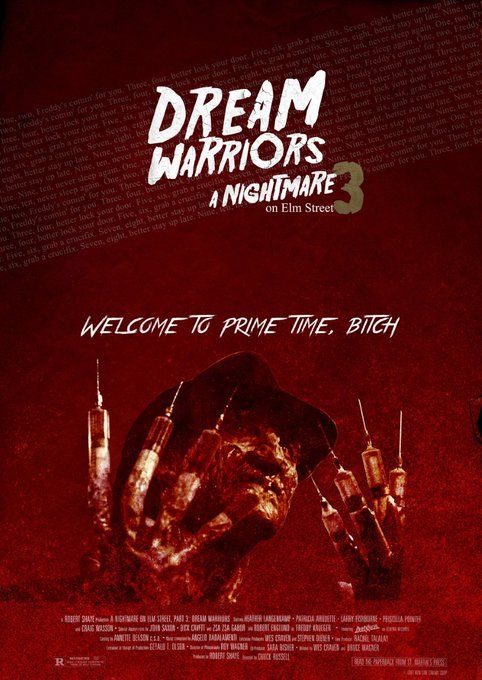 A Nightmare On Elm Street 3 Dream Warriors 1987 850x1200 By