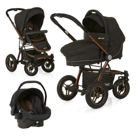 hauck kinderwagen set king air trio set chocolate. Black Bedroom Furniture Sets. Home Design Ideas