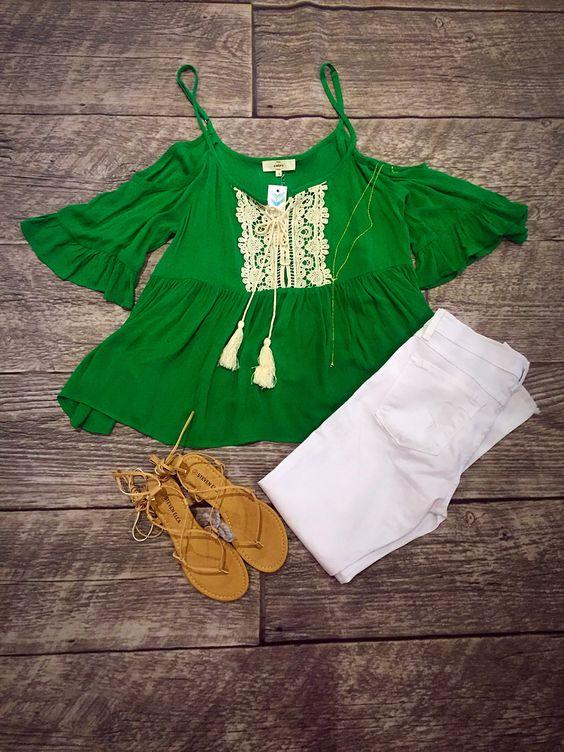 Green Top! Shopellableu.com