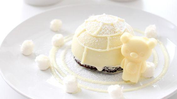 pankobunny:  Melting Igloo Dessert   溶けているイグルーのデザート
