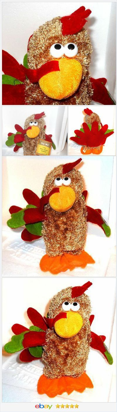 Singing Thanksgiving Turkey Animated and Musical USA Seller #ebay  http://stores.ebay.com/JEWELRY-AND-GIFTS-BY-ALICE-AND-ANN