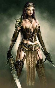 Viking girl# warrior