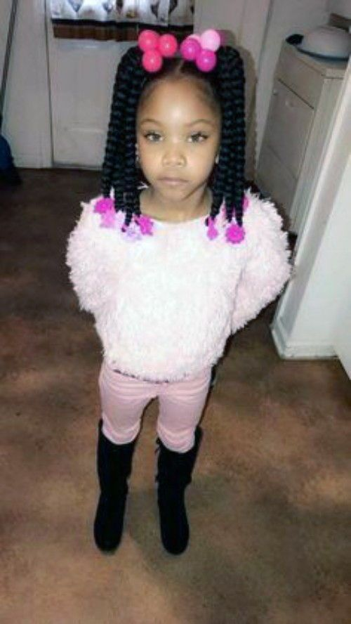 Black Kids Hairstyles With Braids Beads And Other Accessories