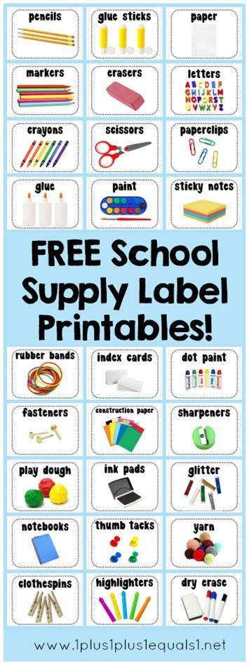 It is an image of Crush Free Printable Classroom Labels With Pictures